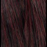 99 - schwarz-burgund mit hellem Verlauf (5cm Spitzen) - nero bordeaux con sfumatura chiara